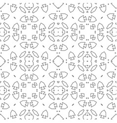 Psychedelic seamless pattern for relaxation vector