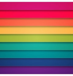 Rainbow colorful stripes abstract background vector image
