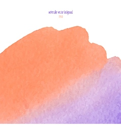 red and purple watercolor squarer background vector image