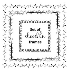 Seasonal ornaments doodle patterns decorative vector