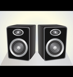 Speakers set vector