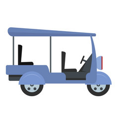 tourism taxi icon flat style vector image