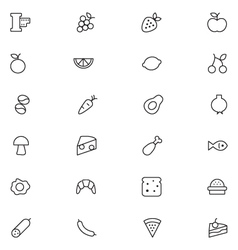 User interface icons 7 vector