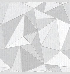 White triangle seamless pattern with wood effect vector
