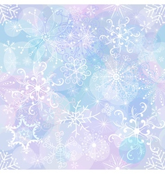 gentle christmas pattern vector image vector image