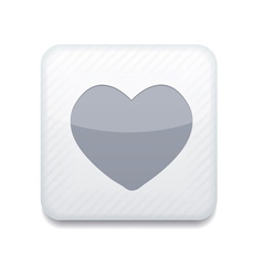 white heart icon Eps10 Easy to edit vector image vector image