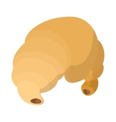 Croissant icon cartoon style vector image vector image