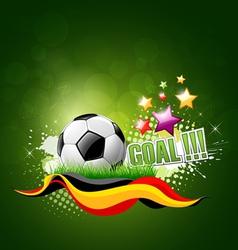 Football artistic background vector