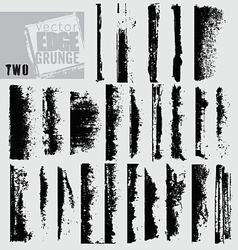 edge grunge two vector image vector image