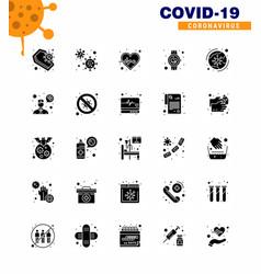 covid19-19 protection coronavirus pendamic 25 vector image