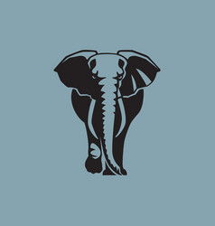 Elephant sign logo emblem -07 vector