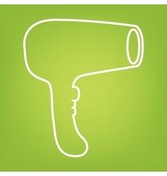 Hair Dryer icon vector