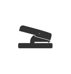 Hole puncher icon flat vector