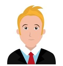 Man character facial expression vector