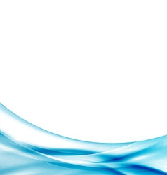 Modern transparent wave certificate abstract vector image