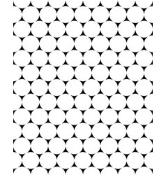 white circles seamless vector image