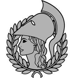 athena vector image