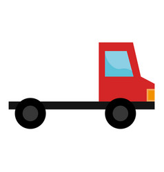 delivery truck vehicle icon vector image
