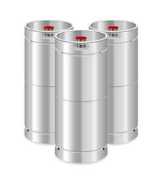 Beer kegs vector