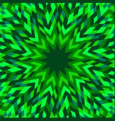 Colorful abstract geometrical circular burst vector