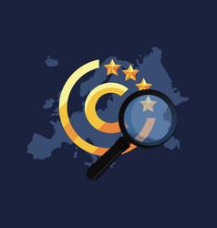 Copyright of intellectual vector