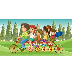 Everybodys bike vector