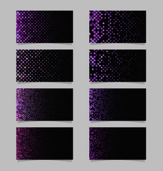 geometrical diagonal rounded square mosaic vector image