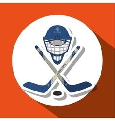 hockey sport design vector image