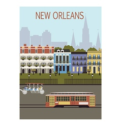 New Orleans city vector
