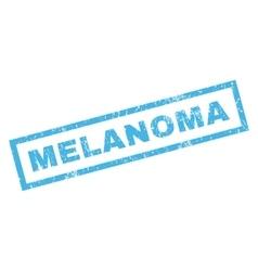 Melanoma Rubber Stamp vector image