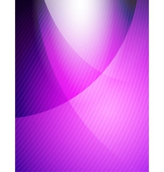 Purple business wave vector image