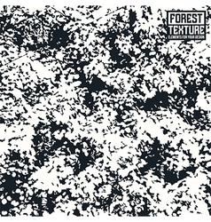 Deciduous forest texture vector image