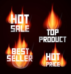 Hot Sale - Price - Top Product - Best Seller vector image vector image