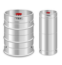 Beer keg set vector