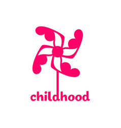 Childhood logo vector