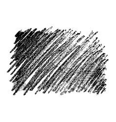 Hand drawn pencil scribble rectangle vector