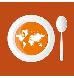 Map soup vector