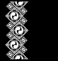 New pattern 2019 yin 0023 vector