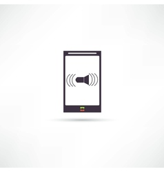 Mobile Phones icon vector image vector image