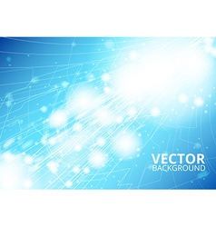 Vertical future technology abstract vector image