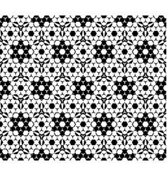 seamless pattern hexagonal elements vector image vector image