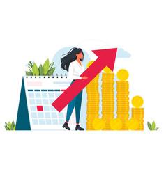 Audit conceptprofessional financial vector