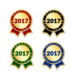award ribbon best vector image