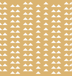 christmas geometric seamless pattern with stripe vector image