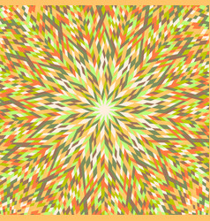 Dynamic hypnotic colorful tiled mosaic pattern vector