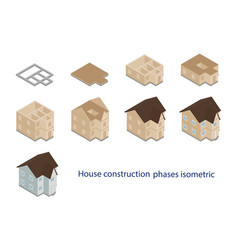 house construction vector image