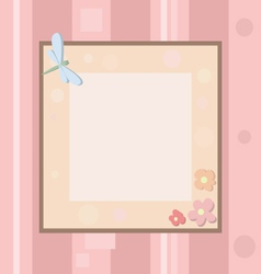 Pastel Photo Frame vector