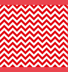 red and white zig zag seamless pattern vector image