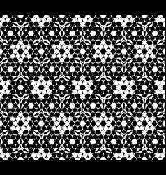seamless pattern hexagonal elements vector image