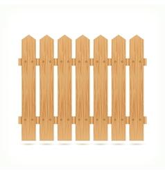 Wooden fence tile vector image